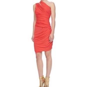 NWT Halston Heritage Ruched Bodycon Cocktail Dress